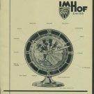 Arhur Imhof Clock Company Vintage 1957 Swiss Ad La Chaux-de-Fonds Switzerland