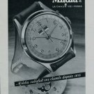1950 Mildia Watch Company La Chaux-de-Fonds Switzerland Vintage 1950 Swiss Ad Suisse Advert Horology