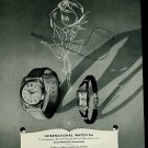 1950 International Watch Company Schaffhouse Switzerland IWC Vintage 1950 Swiss Ad Suisse Advert