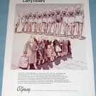 1976 Larry Rivers Two Lines of the Depression Vintage 1976 Art Ad Advetisement