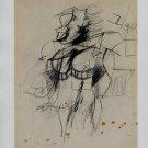 Willem de Kooning Woman (1951) Art Ad Advertisement