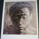 Yan Pei Ming Self Portrait Art Ad Advertisement
