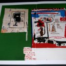 Jean-Michel Basquiat Harlem Paper Art Ad Mini Poster Advertisement