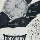 1955 Precimax Watch Company Neuchatel Switzerland Vintage 1955 Swiss Ad Suisse Advert Horology