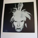 Andy Warhol Self Portrait Fright Wig Art Ad