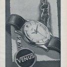 1955 Venus Watch Company La Chaux-de-Fonds Switzerland 1955 Swiss Ad Suisse Advert