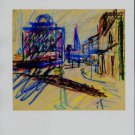 Frank Auerbach Study for Camden Theater Art Ad Advert
