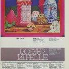 1980 Peter Paone Sweet City 1980 Art Ad Advertisement