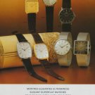 1977 Rodania Watch Company Switzerland Vintage 1977 Swiss Ad Suisse Advert Horology