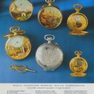 Reuge Watch Company Reuge S.A. Vintage 1977 Swiss Ad Suisse Advert Horlogerie
