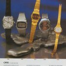 1977 Oris Watch Company Holstein Switzerland Vintage 1977 Swiss Ad Suisse Advert Horology