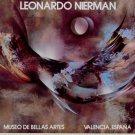 Leonardo Nierman Vintage 1982 Art Ad Advert Museo De Bellas Artes, Valencia, Espana