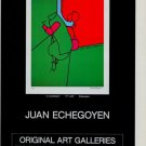 Juan Echegoyen Lo Cotidiano Vintage 1981 Art Ad Advertisement