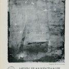 Helen Frankenthaler Vintage 1981 Art Exhibition Ad Advert Andre Emmerich Gallery, NY