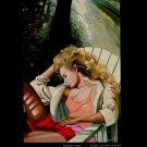 Glenda Green September's Song Vintage 1982 Art Ad Advertisement