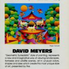 David Myers Magic Carousel 1981 Art Ad Advert Advertisement