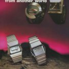 Catena Watch Company Switzerland Spaceman Vintage 1977 Swiss Ad Suisse Advert