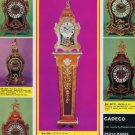 Cadeco Clock Company Paris France Vintage 1977 Swiss Ad Suisse Advert Horlogerie