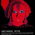 Andy Warhol Myths The Star Vintage 1982 Art Ad Magazine Advert