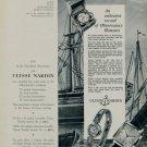 1955 Ulysse Nardin Watch Company An Unbeaten Record 1955 Swiss Ad Suisse Advert