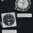 1972 Imhof Clock Company Switzerland Vintage 1972 Swiss Ad Suisse Advert Horlogerie