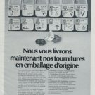 Ebauches SA Company Switzerland Vintage 1972 Swiss Ad Suisse Advert Horology