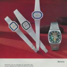 Bulova Watch Company Switzerland Vintage 1972 Swiss Ad Suisse Advert Horology