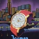 1957 Josmar Watch Company Switzerland Vintage 1957 Swiss Ad Suisse Advert Horlogerie Horology