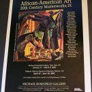 Jacob Lawrence Rummage Sale African American Art Ad Advertisement
