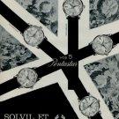 1966 Solvil et Titus Watch Company Switzerland 1966 Swiss Ad Suisse Advert Titus Pentastar Advert