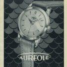 Aureole Watch Company 1954 Swiss Ad M. Choffat & Co. Switzerland Suisse Advert