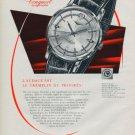 Longines Watch Company Switzerland Vintage 1960 Swiss Ad Suisse Advert Horology