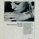 1966 Universal Watch Company Vintage 1966 Swiss Ad Suisse Advert Universal Geneve Watch Company