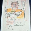 Jean-Michel Basquiat JM Basquiat Art Ad Advertisement