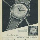 1954 Girard Perregaux Watch Company Vintage 1954 Swiss Ad Suisse Advert Switzerland Horology