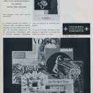 1966 Vacheron & Constantin Watch Company Switzerland Vintage 1966 Swiss Ad Suisse Advert Horology