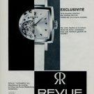 1966 Revue Watch Company Thommen SA Switzerland Vintage 1966 Swiss Ad Suisse Advert