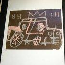 Jean-Michel Basquiat Taxi Cab Art Ad Advertisement