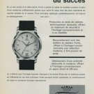 1956 Fortis Watch Company Grenchen Switzerland Vintage 1956 Swiss Ad Suisse Advert