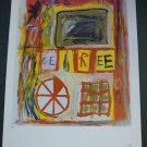Jean-Michel Basquiat Art Ad  Advertisement