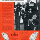 1960 Rolex Watch Company Vintage 1960 Swiss Ad Suisse Advert Horlogerie Horology