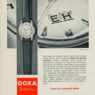 1960 Doxa Watch Company Switzerland Vintage 1960 Swiss Ad Suisse Advert Horlogerie Horology