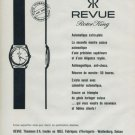 1960 Revue Watch Company Revue Rotor King Advert Vintage 1960 Swiss Ad Suisse Advert