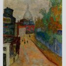 Pierre Bonnard Rue a Montmarte Le Sacre-Coeur Art Ad Advertisement