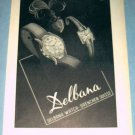 1954 Delbana Watch Company Grenchen Switzerland 1954 Swiss Ad Suisse Advert Horlogerie