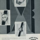 1960 Favre-Leuba Watch Company Geneva Switzerland Vintage 1960 Swiss Ad Suisse Advert Horology