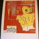 Jean-Michel Basquiat Krong Thip (Torso) Art Ad Advertisement