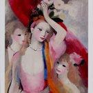Marie Laurencin Trois Jeunes Filles Art Ad Advertisement