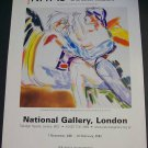 Kitaj In the Aura of Cezanne 2001-02 Art Exhibition Ad Advert National Gallery, London