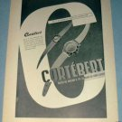 Cortebert Watch Company Vintage 1954 Swiss Ad Switzerland Suisse Advert Horlogerie